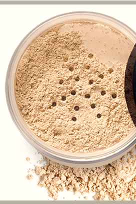 Foundation for Oily Skin: Natural Vegan Makeup for Acne Prone Skin, Silicone-Free and Cruelty-Free Matte Powder